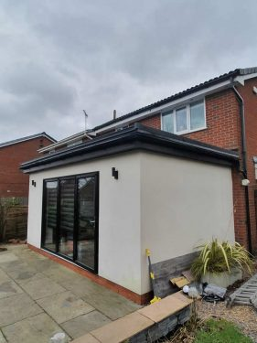Flat Roofing in Preston by ARK Roofing