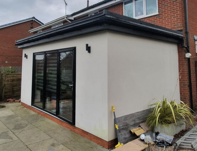 Flat Roofing by ARK Roofing in Preston
